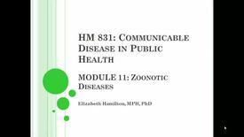 HM 831 Communicable Disease in Public Health.mp4