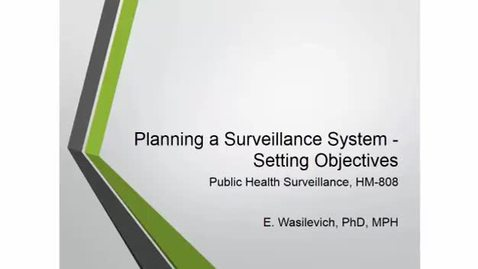 Thumbnail for entry HM808PlanningSurveillanceSystemsSetingobjectives