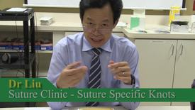 Thumbnail for entry Suture Knots