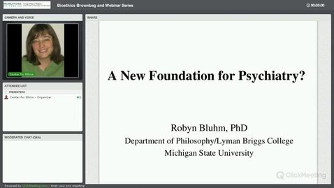 Thumbnail for entry A New Foundation for Psychiatry?