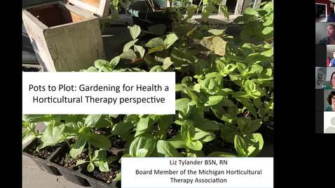 Thumbnail for entry Gardening: From Pots to Plots
