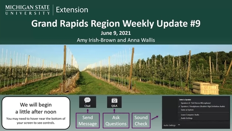 Thumbnail for entry Grand Rapids Region Weekly Update #8 June 9, 2021