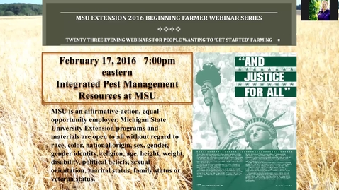 Thumbnail for entry Integrated pest management resources at MSU