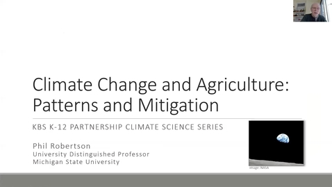 Thumbnail for entry CLIMATE SCIENCE SERIES: CARBON SEQUESTRATION IN AGRICULTURAL SYSTEMS