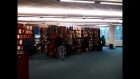 Thumbnail for entry Moving Stacks in MSU Libraries, December 2014