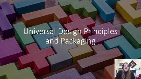 Thumbnail for entry universal design