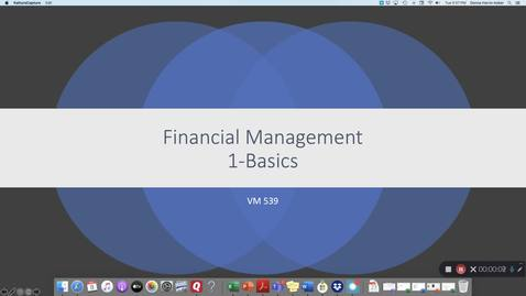 Thumbnail for entry VM 539-FM 1-The Basics