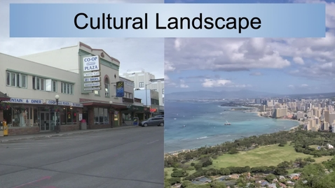 Thumbnail for entry GEO330: Pacific & the Far North: Cultural Landscape