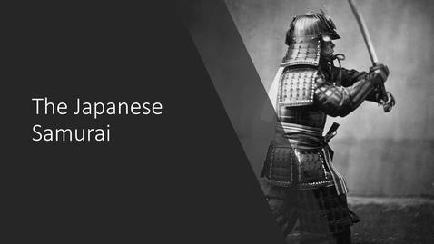 Thumbnail for entry The Japanese Samurai
