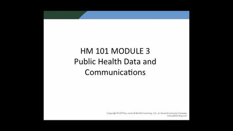 Thumbnail for entry HM 101 Module 3 Powerpoint Presentation