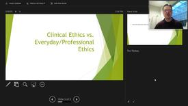 Thumbnail for entry Clinical Ethics vs Everyday Ethics