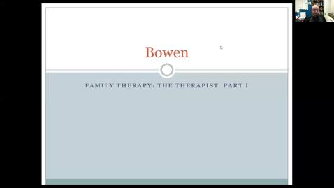 Thumbnail for entry Bowen Family Therapy
