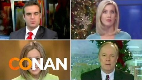 Thumbnail for entry Newscasters Agree: A Christmas Present Or Two Or Ten Edition
