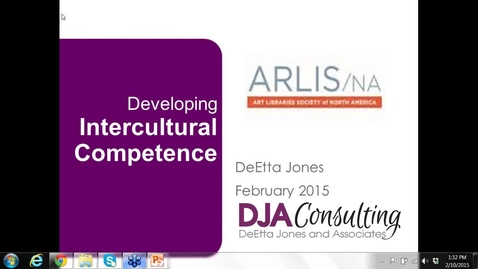 Thumbnail for entry Developing Intercultural Competence with DeEtta Jones (Part Two)
