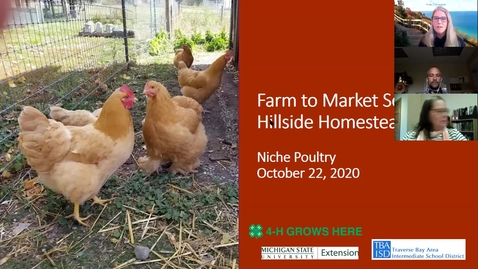 Thumbnail for entry Poultry Session 3 Farm to Market Webinar Series 10-22-20
