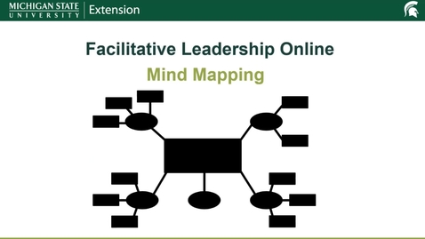 Thumbnail for entry Mind Mapping-Facilitative Leadership Online Tool Talks
