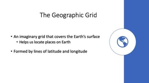 Thumbnail for entry Latitude and Longitude