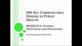 Thumbnail for entry HM831 Mod5DiseaseControl
