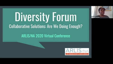 Thumbnail for entry Diversity Forum: Collaborative Solutions, Are We Doing Enough?