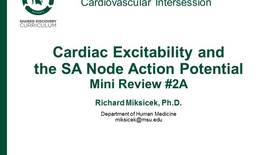 Thumbnail for entry CPR Intersession: Cardiac Excitability and teh SA Node Action Potential