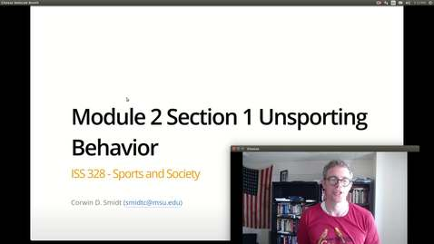 Thumbnail for entry Module 2 Section 1 (1/2)