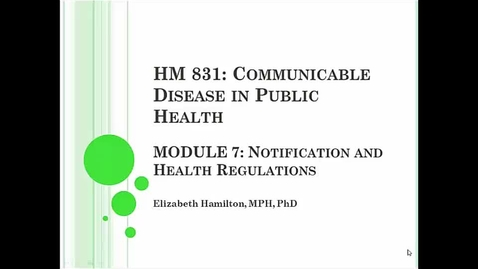 Thumbnail for entry HM831 Mod7NotificationHealth