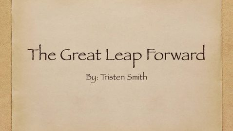 Thumbnail for entry The Great Leap ISS330 Voiceover