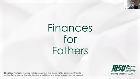 Thumbnail for entry Resilient Fathers: Thriving in the Midst of a Pandemic: Finances for Fathers
