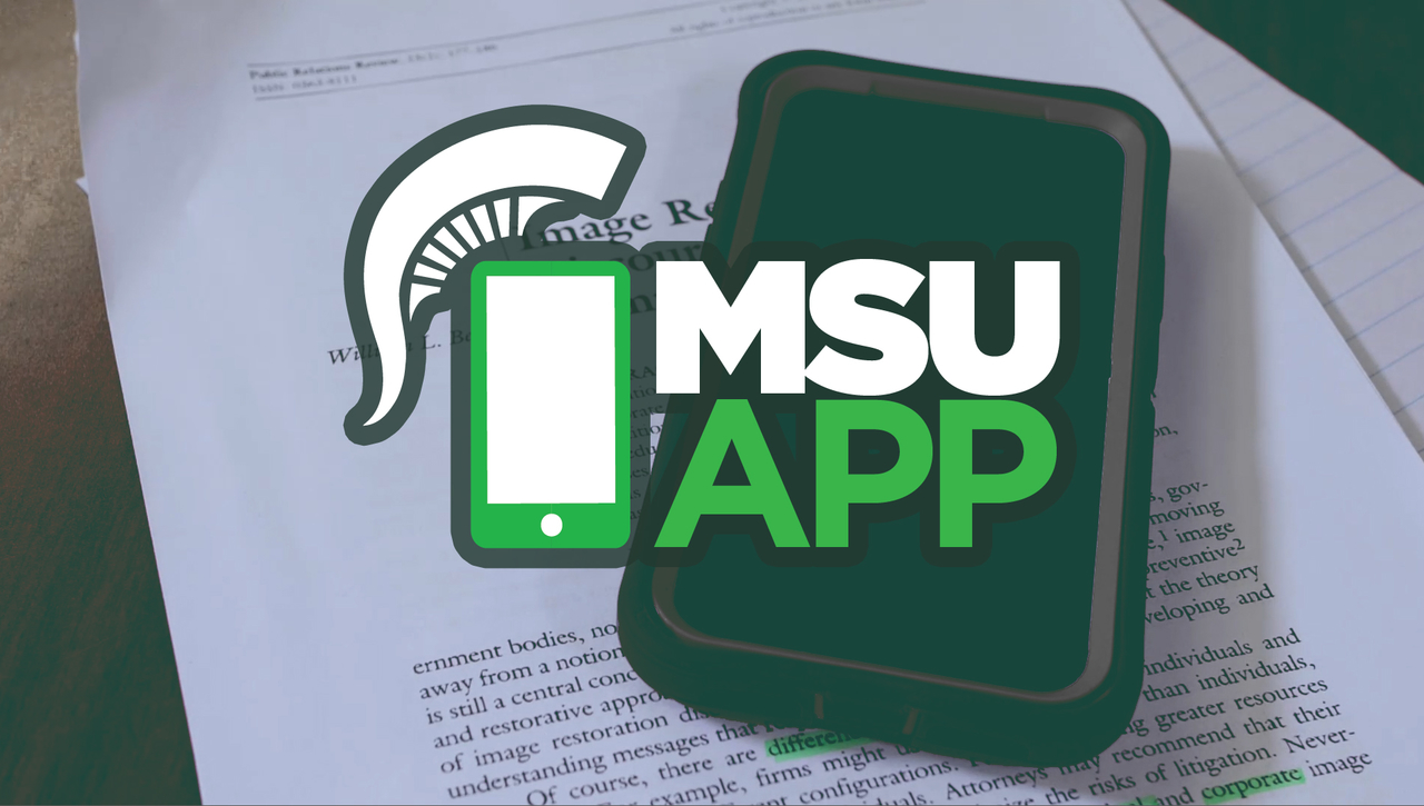 Find where to go on the MSU App
