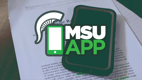 Thumbnail for entry Find where to go on the MSU App