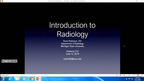 Thumbnail for entry ANTR510 Introduction to Radiology - Robinson (EL Origin)