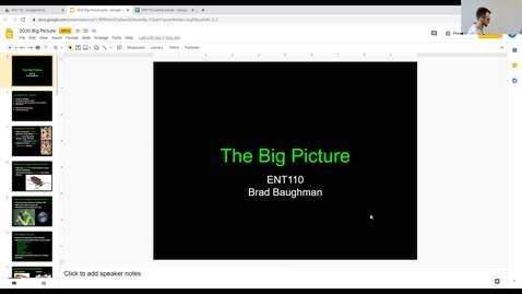 Thumbnail for entry ENT110 week 1 - The Big Picture