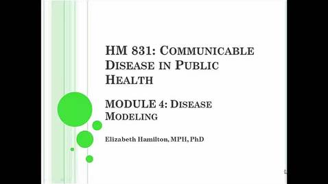 Thumbnail for entry HM831 Mod4Modeling - Clipped by pblhlth Program in Public Health
