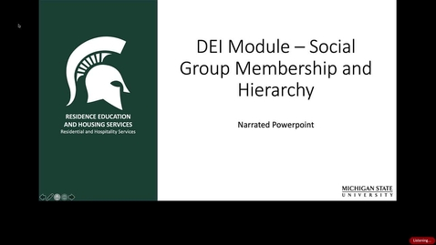 Thumbnail for entry Social Group Membership and Hierarchy