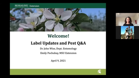 Thumbnail for entry Label Updates and Pest Q&A