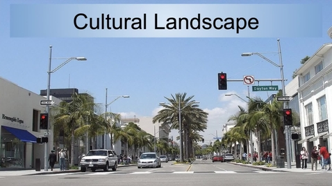 Thumbnail for entry GEO330: California: Cultural Landscape