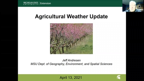 Thumbnail for entry Agricultural weather forecast for April 13, 2021