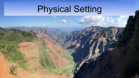 Thumbnail for entry GEO330: Pacific & Far North: Physical Setting
