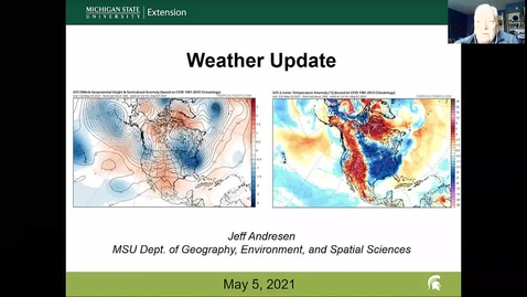 Thumbnail for entry Agricultural weather forecast for May 4, 2021
