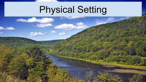 Thumbnail for entry GEO330: Inland South: Physical Setting