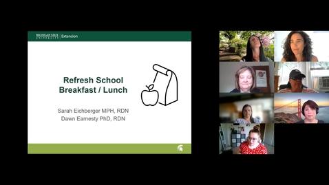 Thumbnail for entry Refresh School Breakfast Lunch