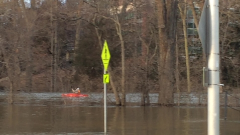 Thumbnail for entry Red Cedar Flood Kayaking, Feb 22, 2018