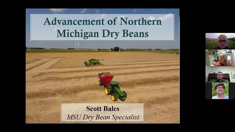 Thumbnail for entry Advancement of N MI Dry Beans  Scott Bales  Jan 15 2021