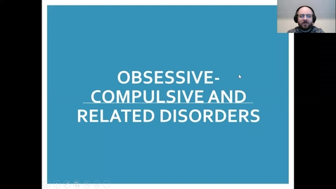 Thumbnail for entry SW  843 - OCD Diagnosis