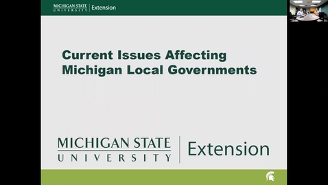 Thumbnail for entry Current Issues Affecting Michigan Local Governments: Michigan Energy Policy Reforms