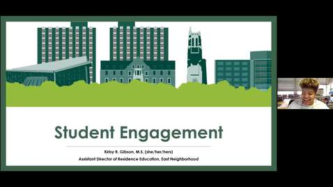 Thumbnail for entry Resident Assistant Community Engagement Training