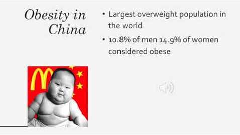 Thumbnail for entry ISS 330b Obesity in China