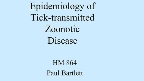 Thumbnail for entry tick-borne-zoonotics 2019 v