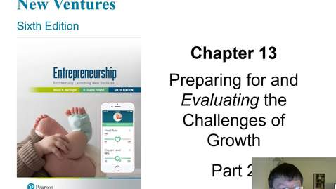Thumbnail for entry Preparing for and Evaluating the Challenges of Growth Part 2