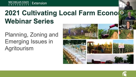 Thumbnail for entry CLFE Session 1 - Introduction to Agritourism and Local Planning and Zoning